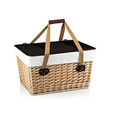 Picnic Time Brown Canasta Grande Wicker Basket