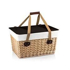 Picnic Time Brown Canasta Grande Wicker Basket