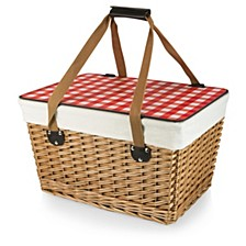 Red Canasta Grande Wicker Basket