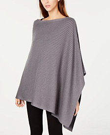 Eileen Fisher Tencel® Asymmetrical Poncho, Regular & Petite