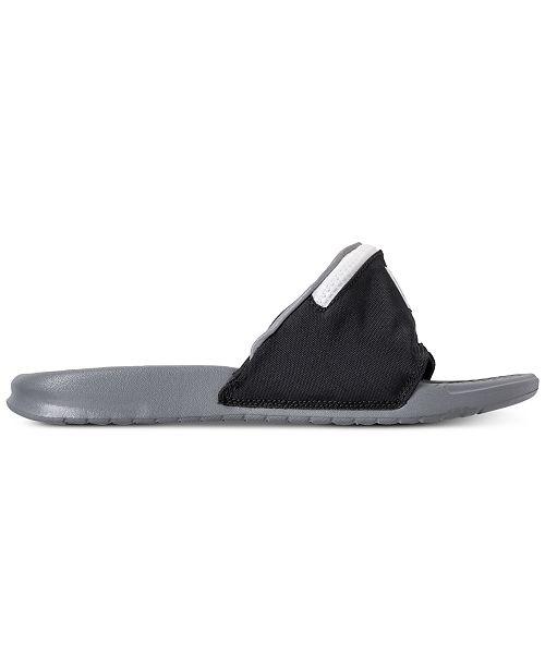 fbfdfafd8241 ... Nike Men s Benassi JDI Fanny Pack Slide Sandals from Finish Line ...