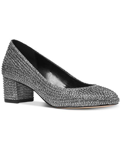 5b262c83c4c1 Michael Kors Arabella Kitten-Heel Pumps   Reviews - Pumps - Shoes ...