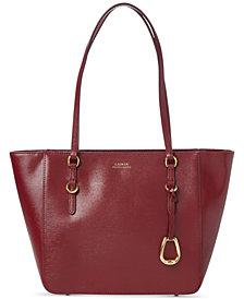 Lauren Ralph Lauren Bennington Leather Shopper