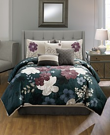 CLOSEOUT! Sofina 7-Pc. Comforter Sets, Created for Macy's
