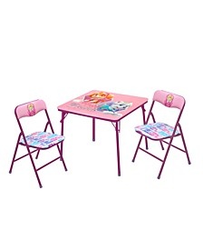 Paw Patrol Girls 3-Piece Table & Chair Set