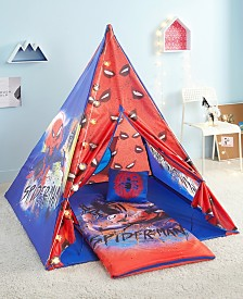 Spiderman Teepee Tent Set
