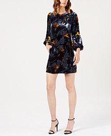 French Connection Aventine Velvet Dress