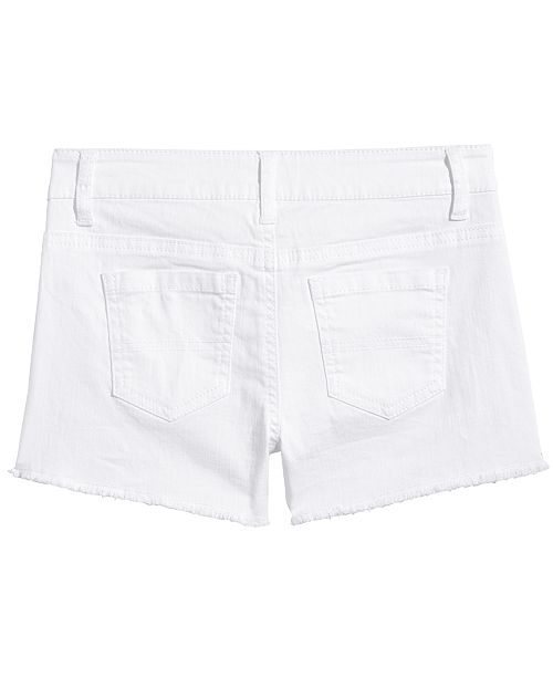 264dae04d689 Epic Threads Big Girls White Denim Shorts, Created for Macy's ...