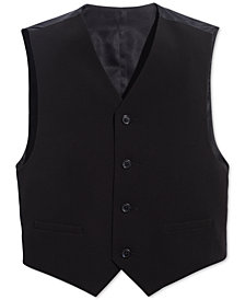 Calvin Klein Big Boys Slim Fit Stretch Suit Vest
