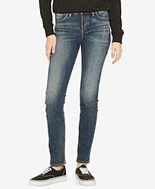 Silver Jeans Co. Avery Curvy Slim-Leg Jeans