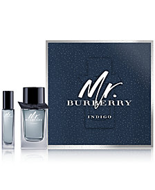 Burberry Men's 2-Pc. Mr. Burberry Indigo Gift Set