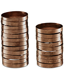 Madison Park Halo Candle Holders, Set of 2