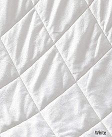 Luxury Soft Quilted Sherpa Throw Blanket