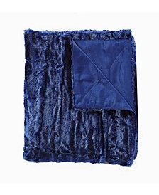 Faux Fur Blanket Medium Pile