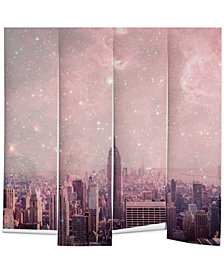 Deny Designs Bianca Green Stardust Covering New York Wall Mural
