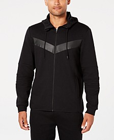 Men's Chevron Zip Hoodie, Created for Macy's