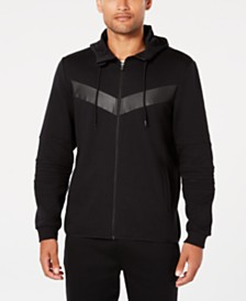 ID Ideology Men's Chevron Zip Hoodie, Created for Macy's