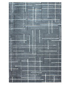 """CLOSEOUT! Hotel Collection Area Rug, City Grid CG1 2'6"""" x 4', Created for Macy's"""