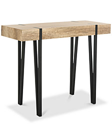 Alyssa Rectangular Top Console Table, Quick Ship