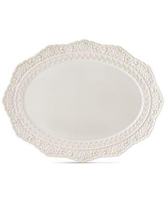 Chelse Muse Sculptured Oval Platter