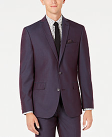 Bar III Men's Slim-Fit Stretch Solid Iridescent Suit Jacket, Created for Macy's