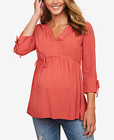 Motherhood Maternity Babydoll Blouse