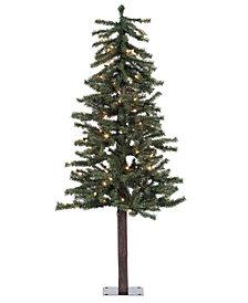 5' Natural Alpine Artificial Christmas Tree Unlit