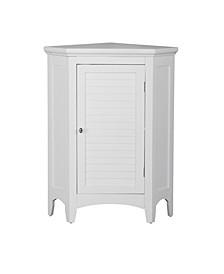 Slone Corner Floor Cabinet with 1 Shutter Door