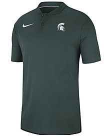 Nike Men's Michigan State Spartans Elite Coaches Polo 2018