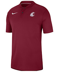 Nike Men's Washington State Cougars Elite Coaches Polo 2018