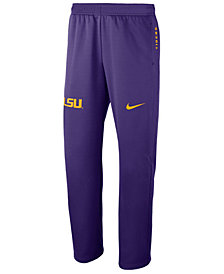 Nike Men's LSU Tigers Therma-Fit Pants