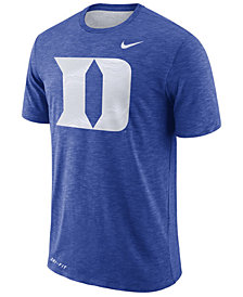Nike Men's Duke Blue Devils Dri-Fit Cotton Slub T-Shirt