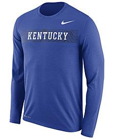Nike Men's Kentucky Wildcats Legend Sideline Long Sleeve T-Shirt 2018