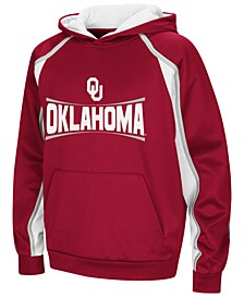 Oklahoma Sooners Poly Pullover Hoodie, Big Boys (8-20)