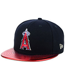 New Era Los Angeles Angels Topps 9FIFTY Snapback Cap