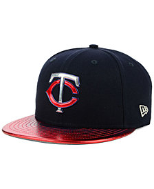 New Era Minnesota Twins Topps 9FIFTY Snapback Cap