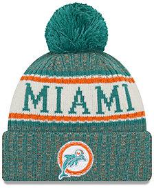 New Era Miami Dolphins Sport Knit Hat