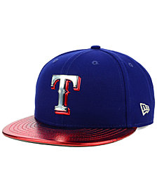 New Era Texas Rangers Topps 9FIFTY Snapback Cap