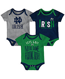 Outerstuff Notre Dame Fighting Irish Newborn Lil Tailgater 3 Piece Set, Infants (0-9 Months)