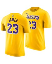 6dade7770 Nike Men s LeBron James Los Angeles Lakers Icon Player T-Shirt