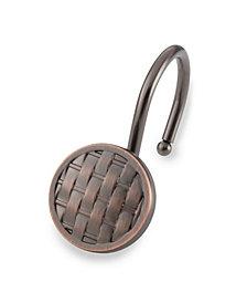 Shower Hooks - Woven - Oil Rubbed Bronze