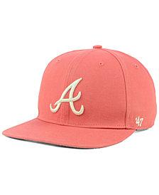 '47 Brand Atlanta Braves Island Snapback Cap