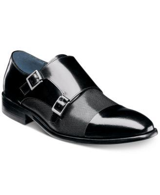 8249f1252184 Stacy Adams Men s Jennings Cap-Toe Double-Monk Strap Loafers   Reviews -  All Men s Shoes - Men - Macy s