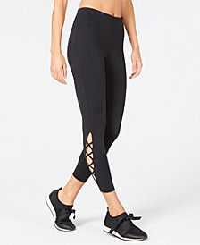 Ideology Cut-Out Ankle Leggings, Created for Macy's