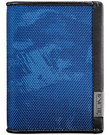 Tumi Men's Alpha Printed Gusseted Card Case
