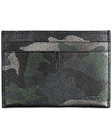 Tumi Men's Nassau Printed Slim Card Case