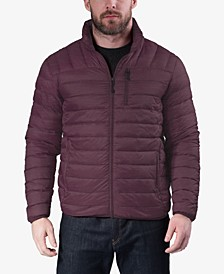 Outfitter Men's Packable Down Blend Puffer Jacket, Created for Macy's