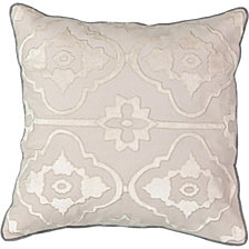 Beautyrest La Salle Applique Decorative Pillow