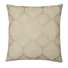 Beautyrest Pemberly 16x16 Embroidered Decorative Pillow