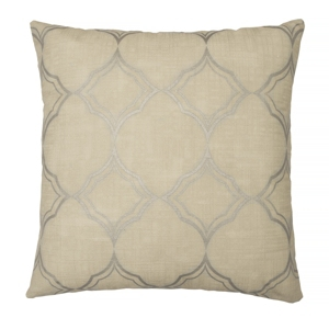 Beautyrest Pemberly 16x16 Embroidered Decorative Pillow Bedding